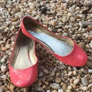 Shoes - Coral Xhilaration patent leather flats